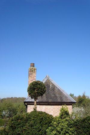 Warwick, UK: Blue Sky over plot 17