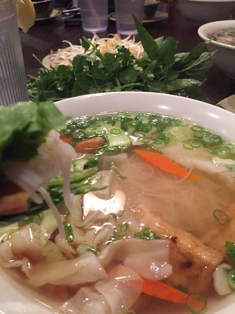 Sugar Land, TX: Tofu Vegetarian Pho