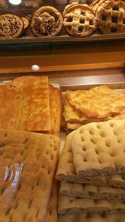 Cascina, อิตาลี: focacce