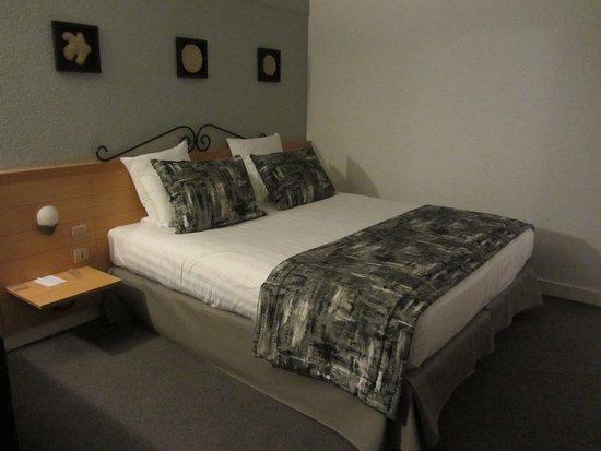 Sausheim, France: notre chambre au premier étage