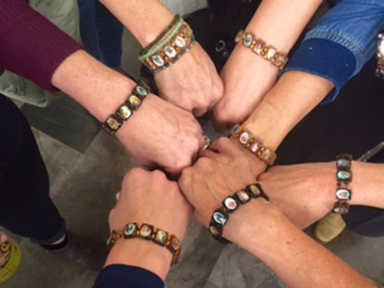 Belmond Casa de Sierra Nevada: Bracelets from Gustavo - our amazing Butler! We love them:)