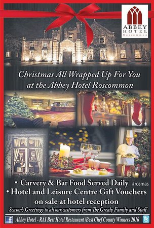 Roscommon, Irlanda: Christmas Season ~ a special family time at the Abbey Hotel