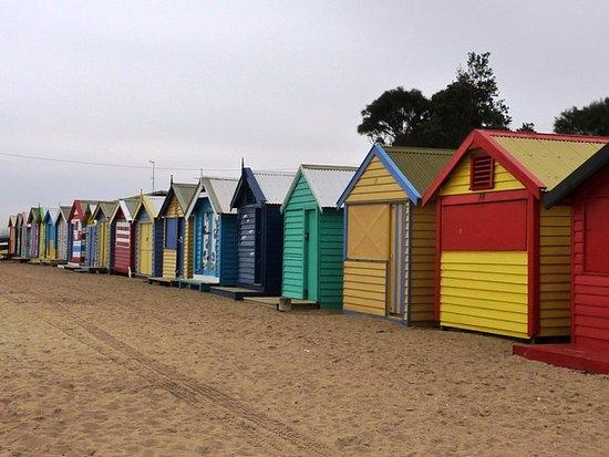 rumah kayu warna warni picture of brighton beach