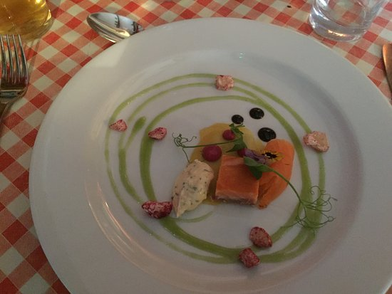 Leintwardine, UK : the Amuse Bouche