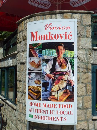 Konoba Vinica Monkovic: resto entrance
