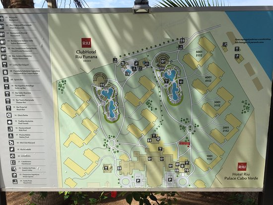 Hotels Map Picture of Hotel Riu Palace Cabo Verde Santa Maria