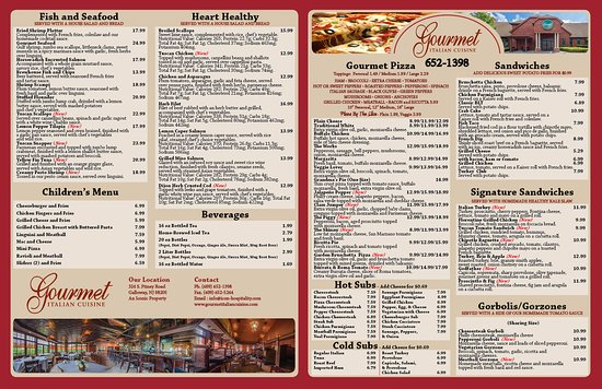 Galloway, NJ: Our Brand New Takeout Menu