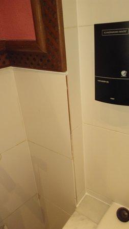 finition salle de bain à revoir ! - picture of casa de federico ... - Finition De Salle De Bain