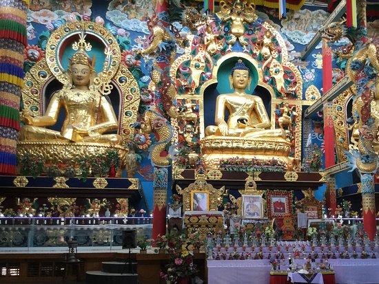 Buddha in all his glory !! - Picture of Namdroling Monastery, Mysuru