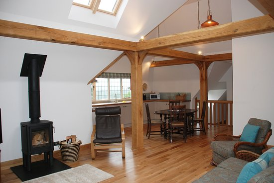 The Giddy Limit Large Open Plan Living Area With Wood Burning Stove