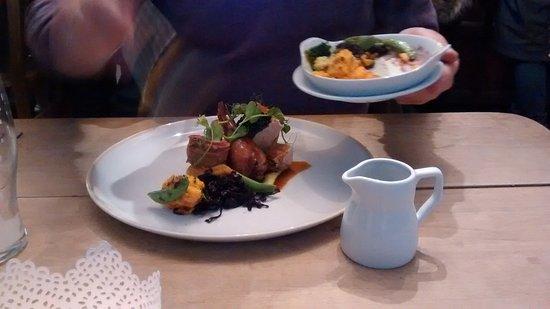 Kettlewell, UK: Pheasant + the delicious 3 veg combo