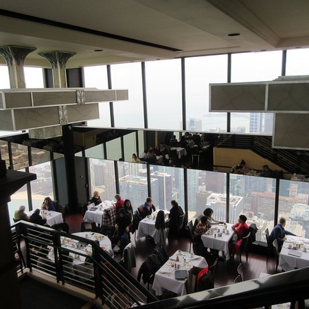 Signature Lounge: Signature Room On The 95th Floor, View From The Lounge On  The