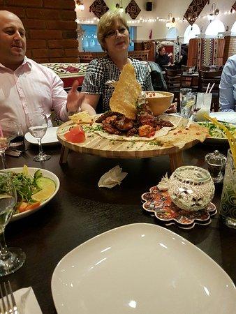 melis restaurant mixed grill