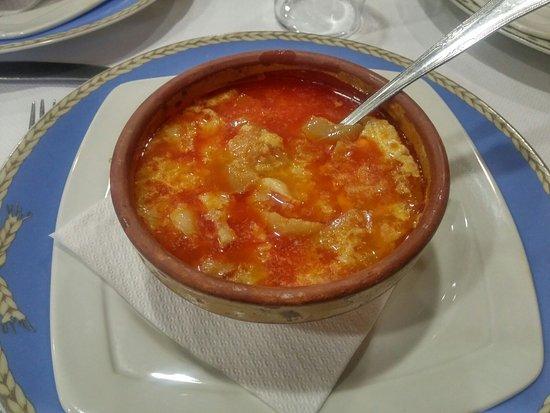 Penaranda de Bracamonte, Spain: Sopa castellana