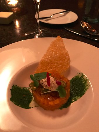 Washington, VA: Beet tartare