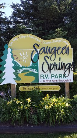 Saugeen Springs R.V. Park: Welcome...