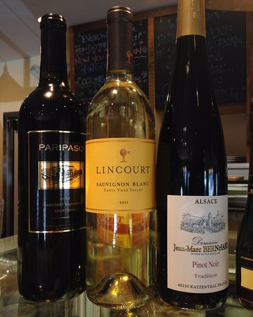Westport, CT: A few wine choices for lunch!