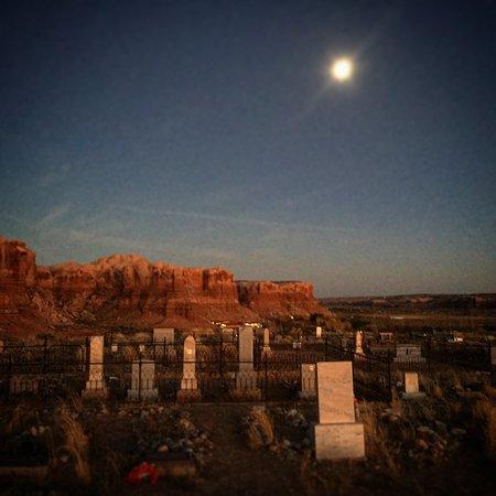 Bluff, UT: On the Super Moon