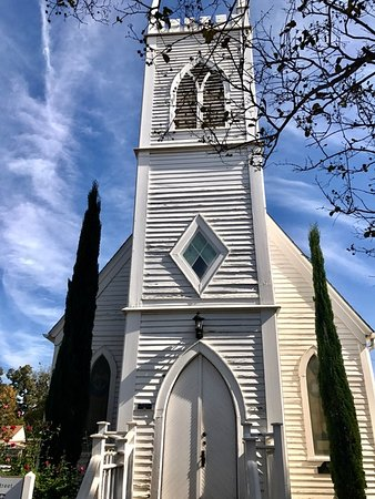 Georgetown, TX: Nearby historical church.