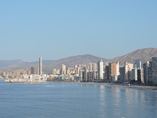 Hotel Benikaktus: Playa Levante