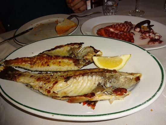 La Matanza de Acentejo, Spain: Fisch a la plancha