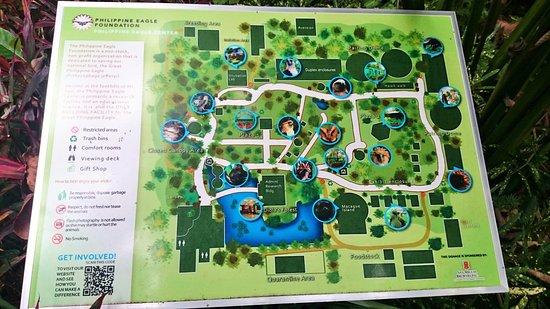 Map Picture of Philippine Eagle Centre Davao City TripAdvisor