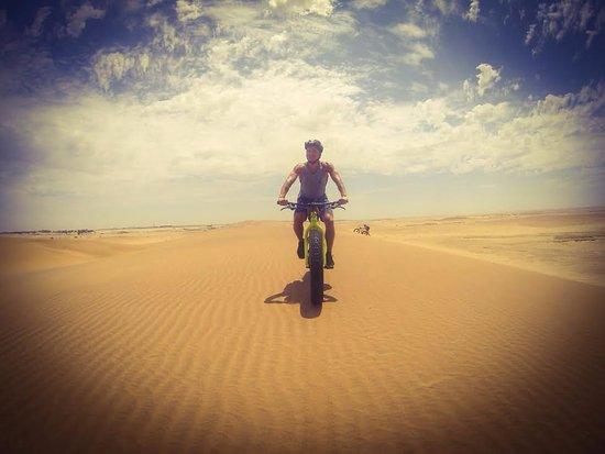 Swakopmund, Namibia: fatbike tour