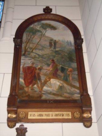 Eglise Saint Pierre: Une des stations du chemin de croix