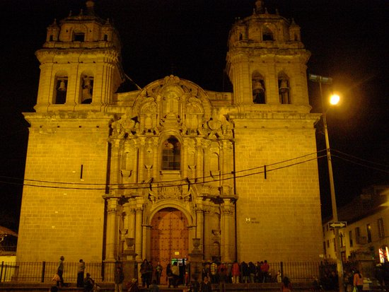 Church and Convent of Our Lady of Mercy (Iglesia de La Merced): Aussi très joli de nuit.
