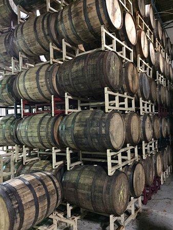 Easton, Pensylwania: barrels of brew