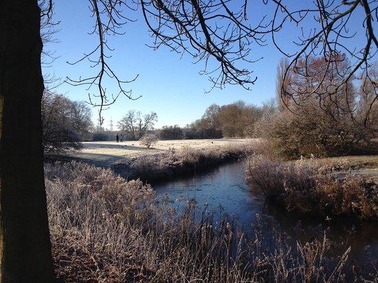Winter am Schloss Herten