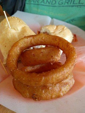 Oak Ridge, TN: The onion rings are amazing
