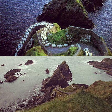 Dunquin, Irlanda: My version and the calendar's version