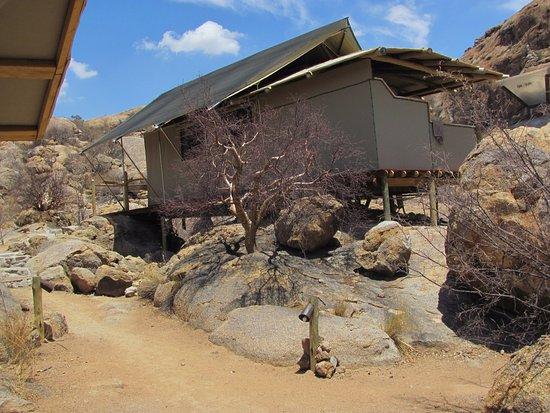 Omaruru, Namibia: newer cabin