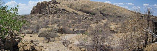 Omaruru, Namibia: view from restaurant