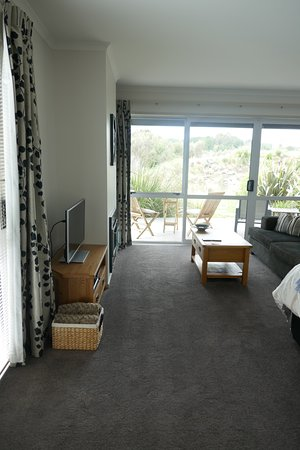 Ohakune, Nueva Zelanda: Living area