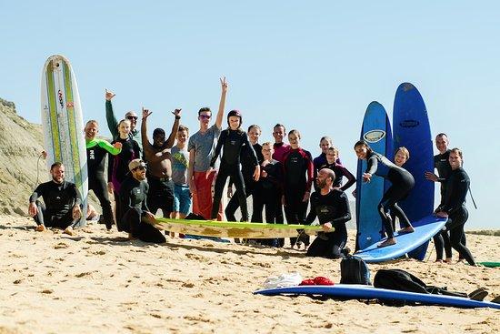 Surfschool TresOndas Ericeira: Group