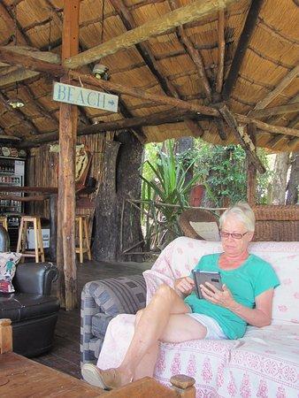 Katima Mulilo, Namibya: the Bar / Lounge