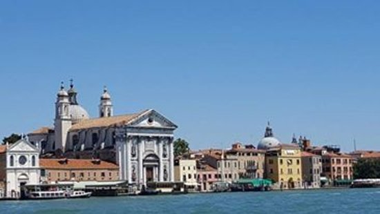 Lido di Venezia, Italia: view from the boat