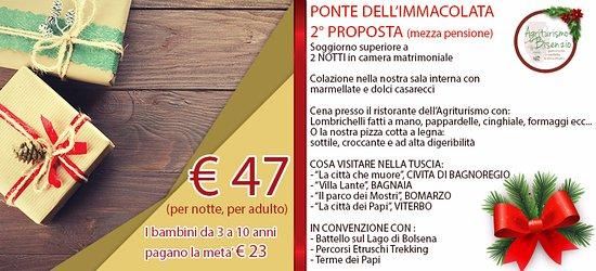 Capodimonte, إيطاليا: PONTE DELL'IMMACOLATA 2°PROPOSTA