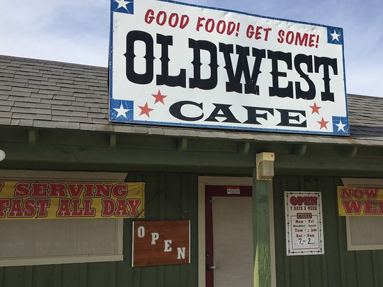 Old West Cafe Denton Tx Menu
