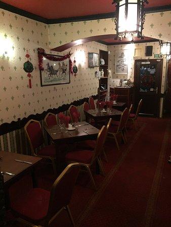 Castlebar, Irlanda: Restaurant interior