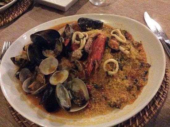 Augusta, อิตาลี: cuscus di pesce
