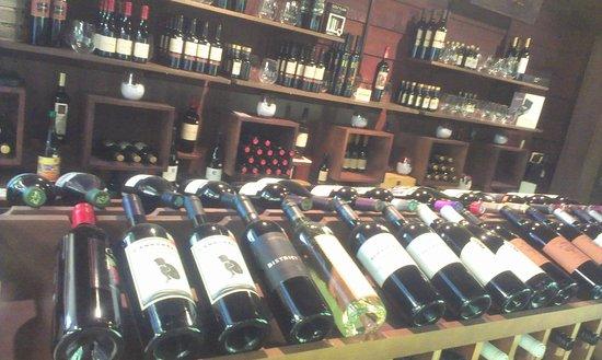 Petaluma, CA: Their wine selection