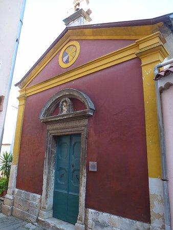 Buje, Хорватия: chuch st john the evangelist 1788