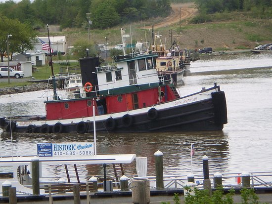 "Chesapeake City, MD: John Arthur tug, also ""historic""  Ferry to cross the canal"