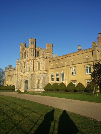 Coughton Court: Beautiful in the winter