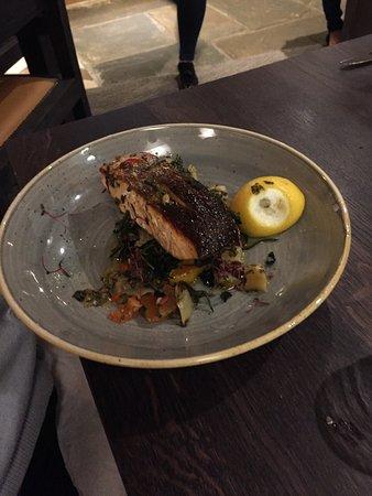 Battlesbridge, UK: The food at The Hawk is top class