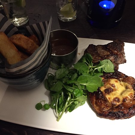 Battlesbridge, UK: The food at The Hawk is top class
