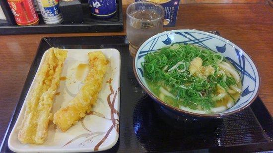 茨木市, 大阪府, 天ぷらとうどん